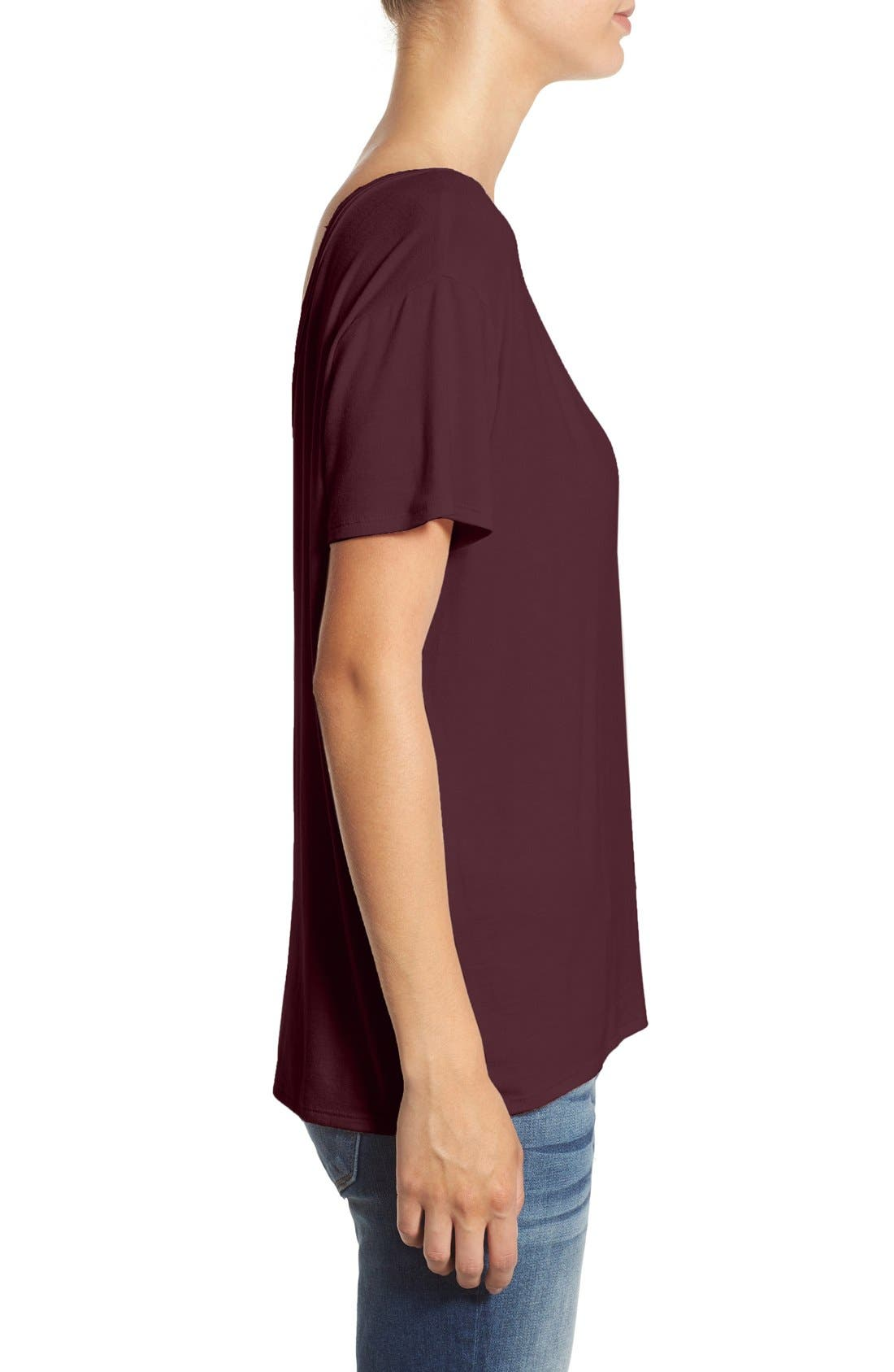,                             Cross Front Tee,                             Alternate thumbnail 24, color,                             500