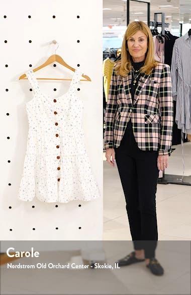 Button-Up Cotton Fit & Flare Dress, sales video thumbnail