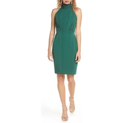 Harlyn Tie Back Cocktail Dress, Green
