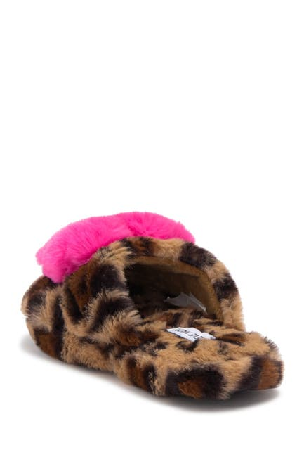 Image of Steve Madden Joey Faux Fur Slipper