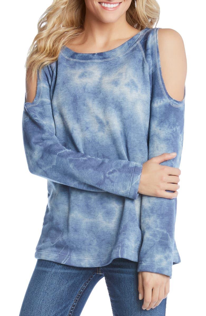 KAREN KANE Cold Shoulder Sweatshirt, Main, color, 400