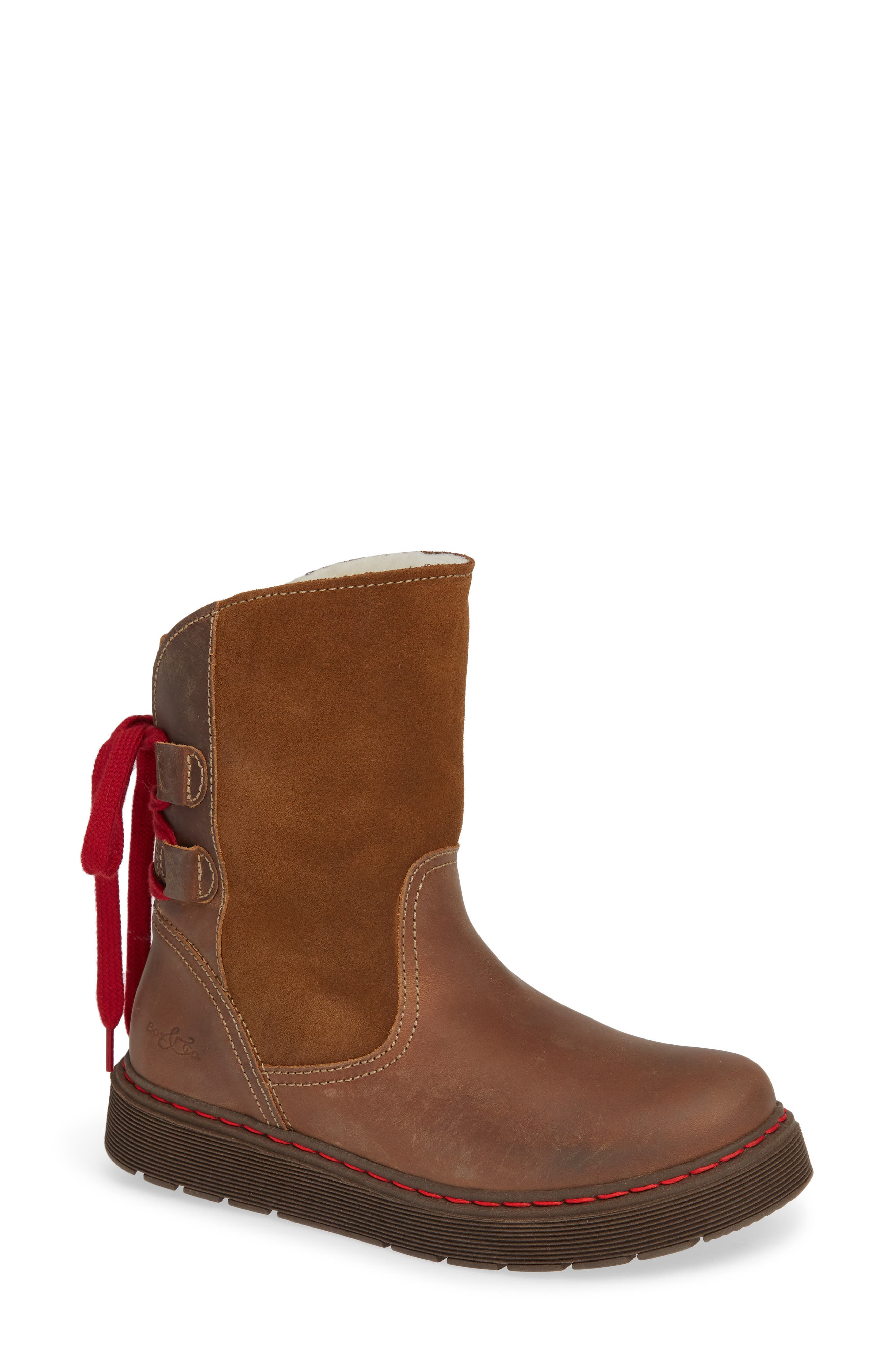 Bos. & Co. Omega Waterproof Lace-Back Boot - Brown