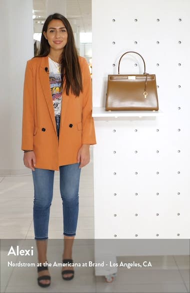 Large Lee Radziwill Leather Bag, sales video thumbnail