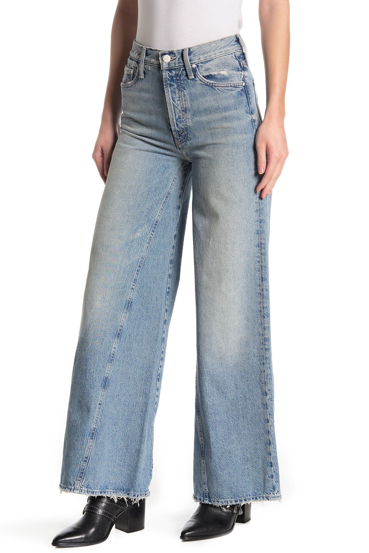 Image of MOTHER The Enchanter Distressed Jeans