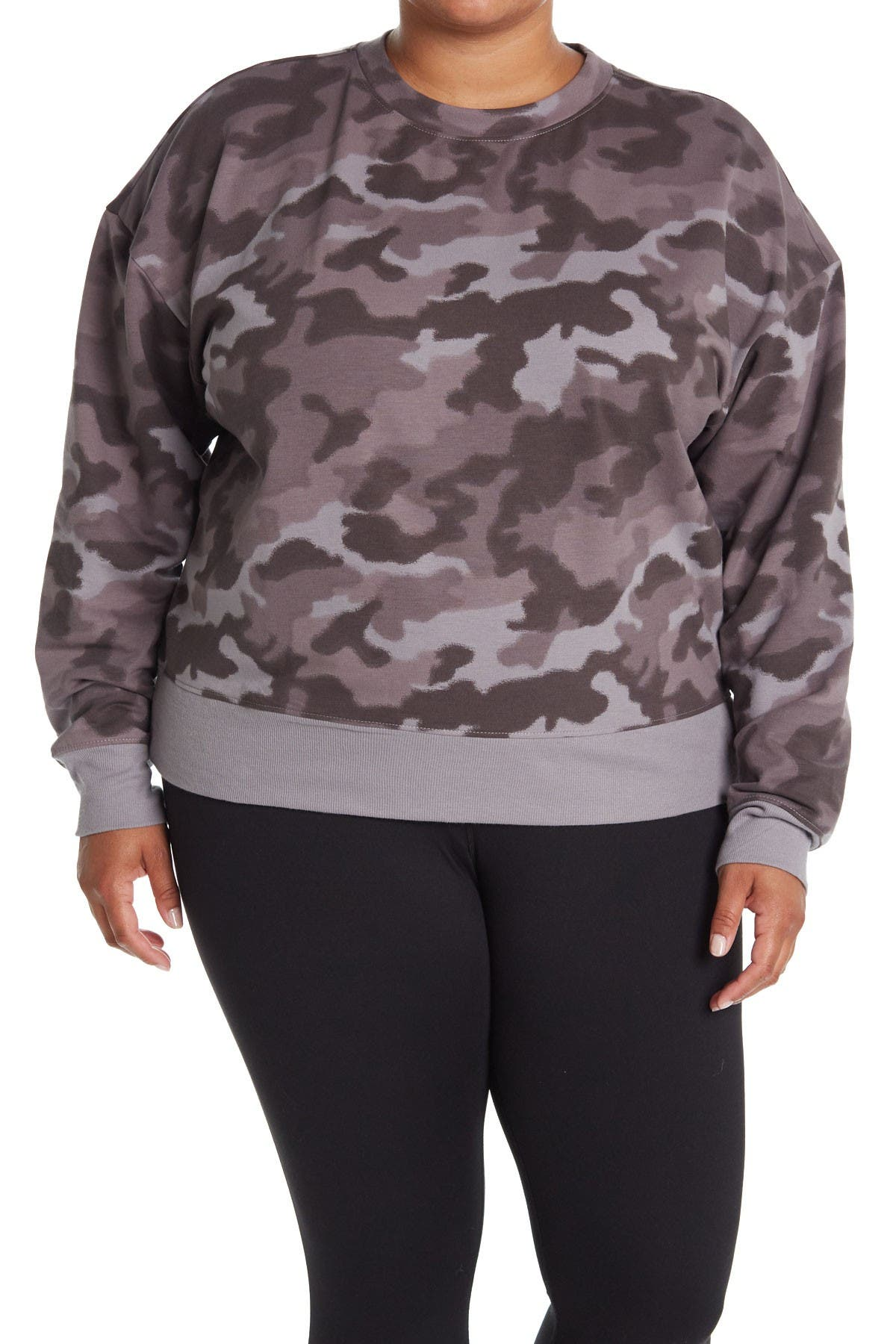 Z By Zella Powerhouse Printed Pullover