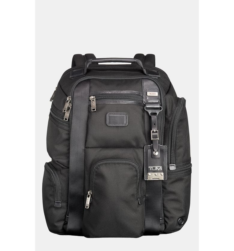 TUMI 'Alpha Bravo - Kingsville' Deluxe BriefPack<sup>®</sup>, Main, color, 001
