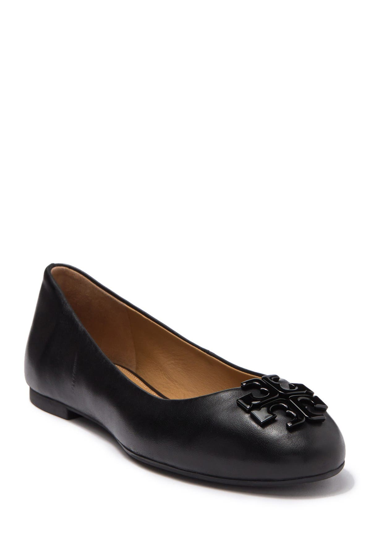 Image of Tory Burch Lowell Leather Ballet Flat
