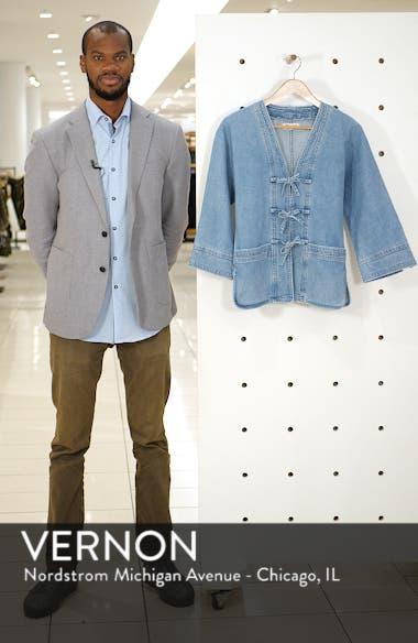 Denim Kimono Chore Jacket, sales video thumbnail