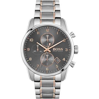Boss Skymaster Chronograph Bracelet Watch, 4m
