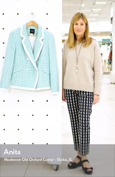 Fringe Trim Tweed Jacket, sales video thumbnail