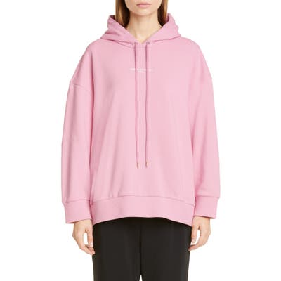 Stella Mccartney 2001 Small Logo Hoodie, 48 IT - Pink