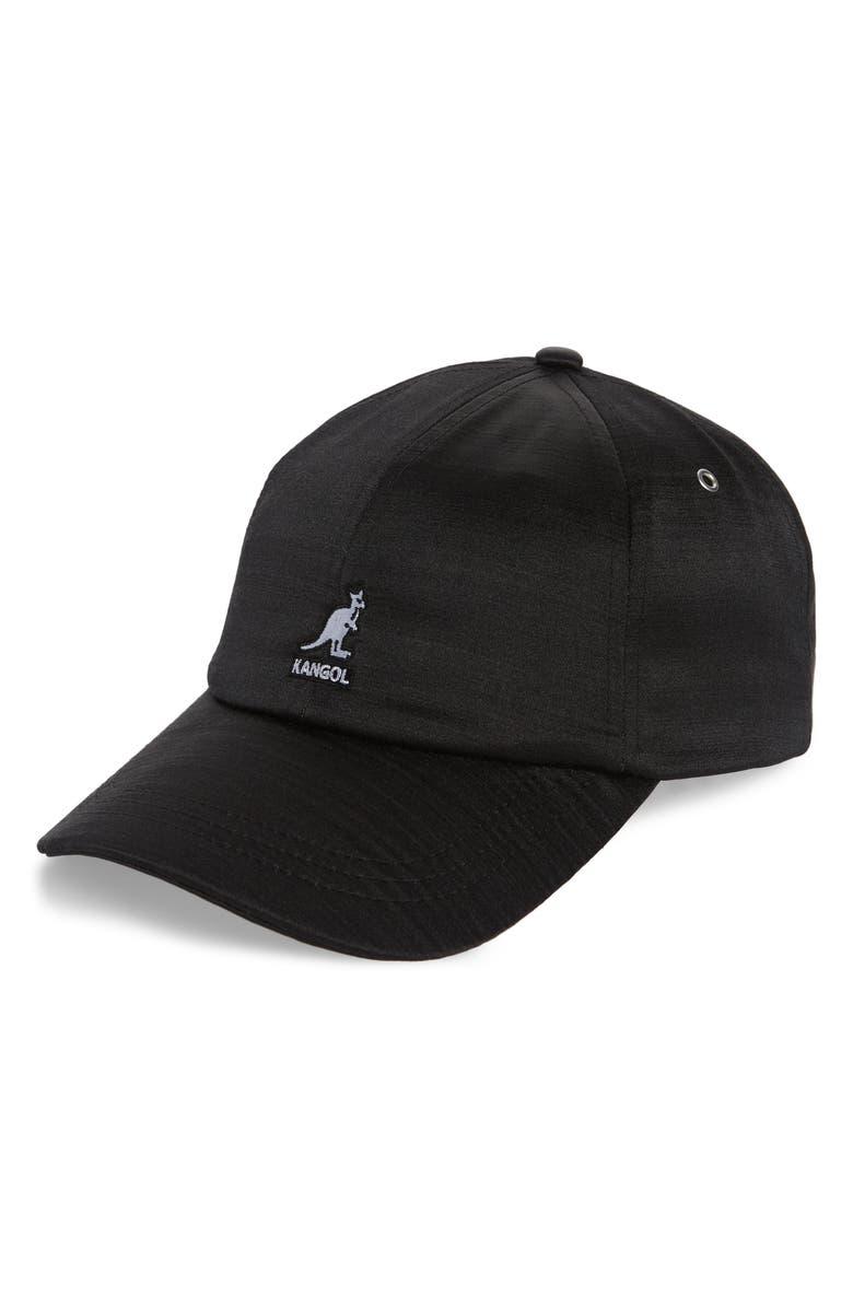 KANGOL Liquid Mercury Baseball Cap, Main, color, 001