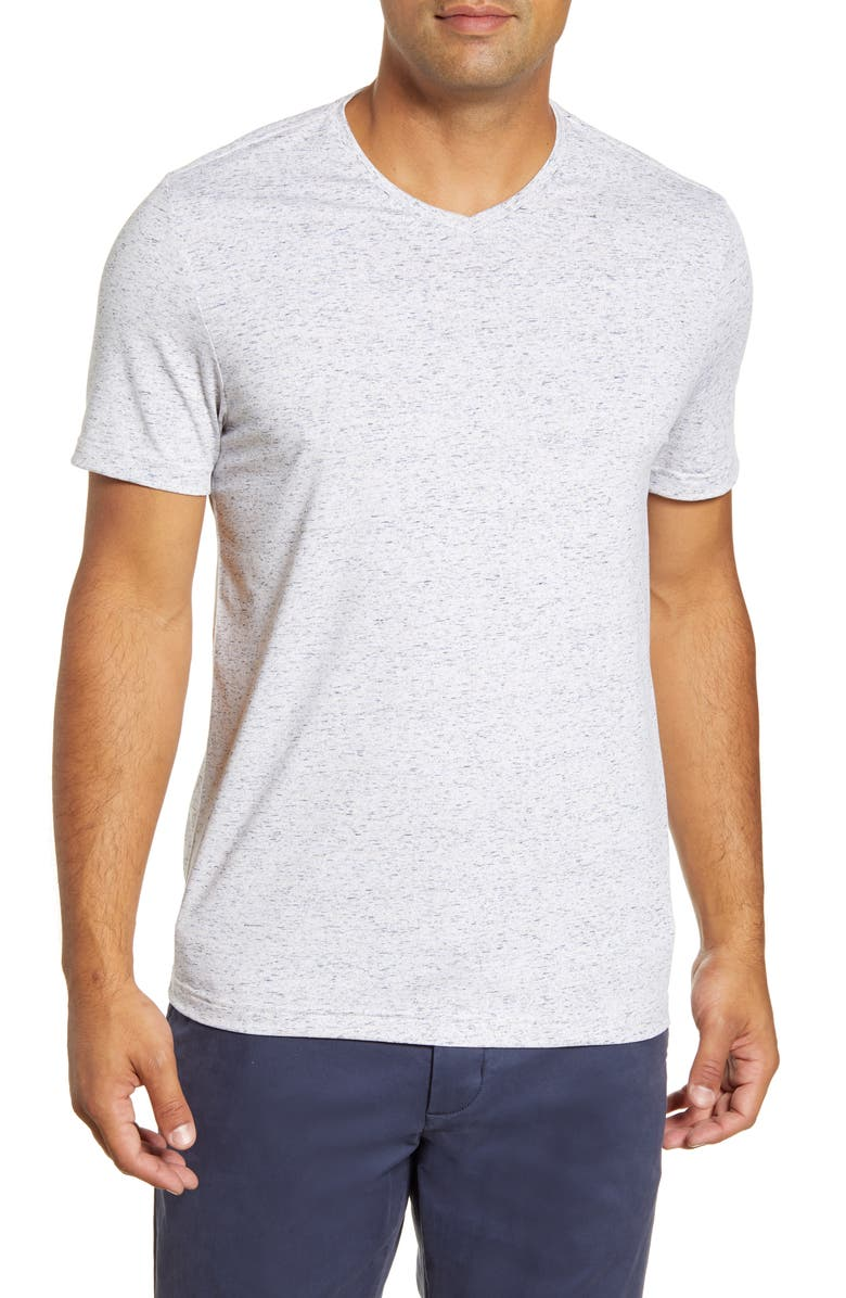 CUTTER & BUCK Advantage Space Dye T-Shirt, Main, color, ELEMENTAL GREY