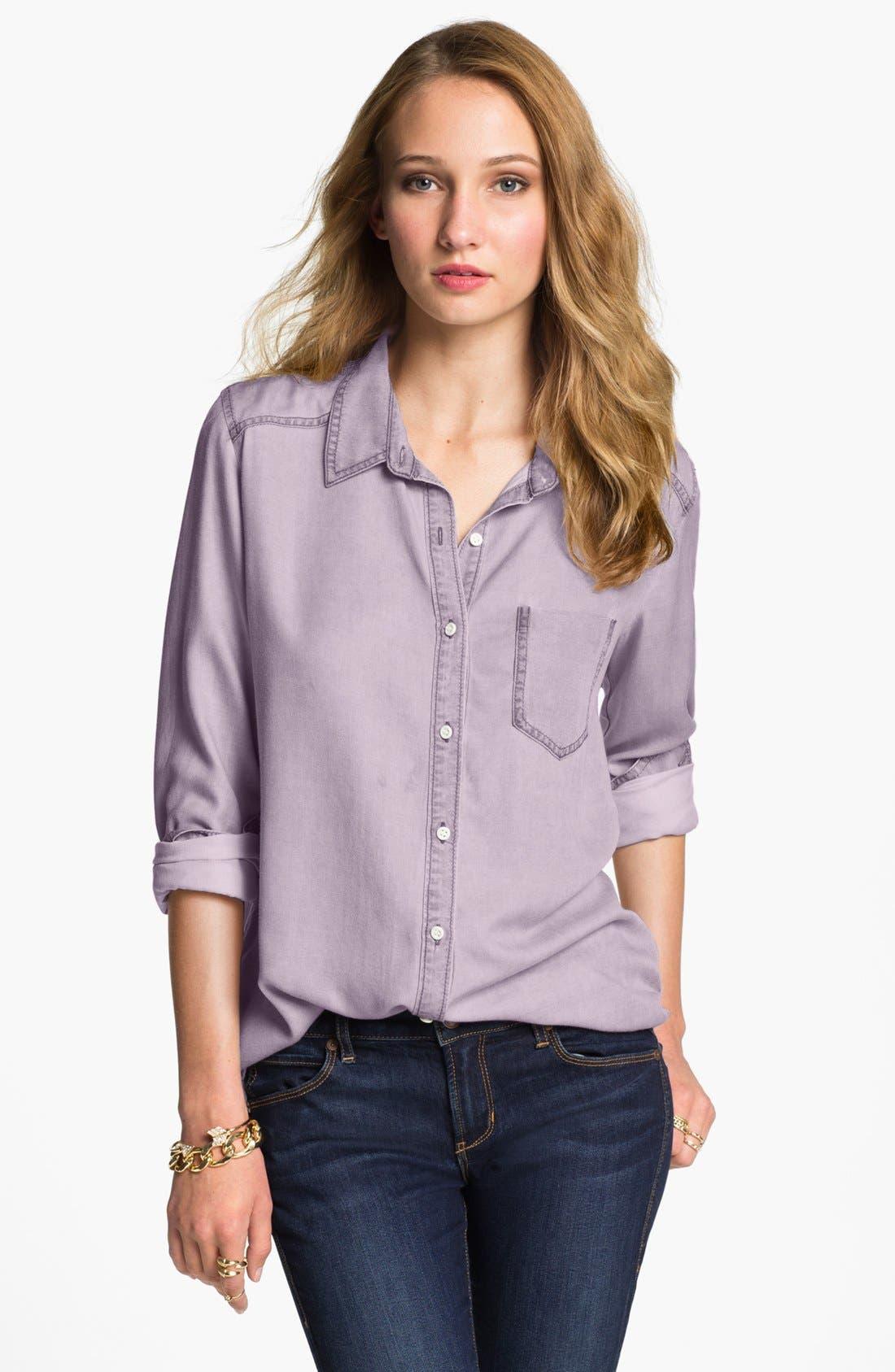 ,                             Rubbish Oversized Menswear Shirt,                             Main thumbnail 13, color,                             502
