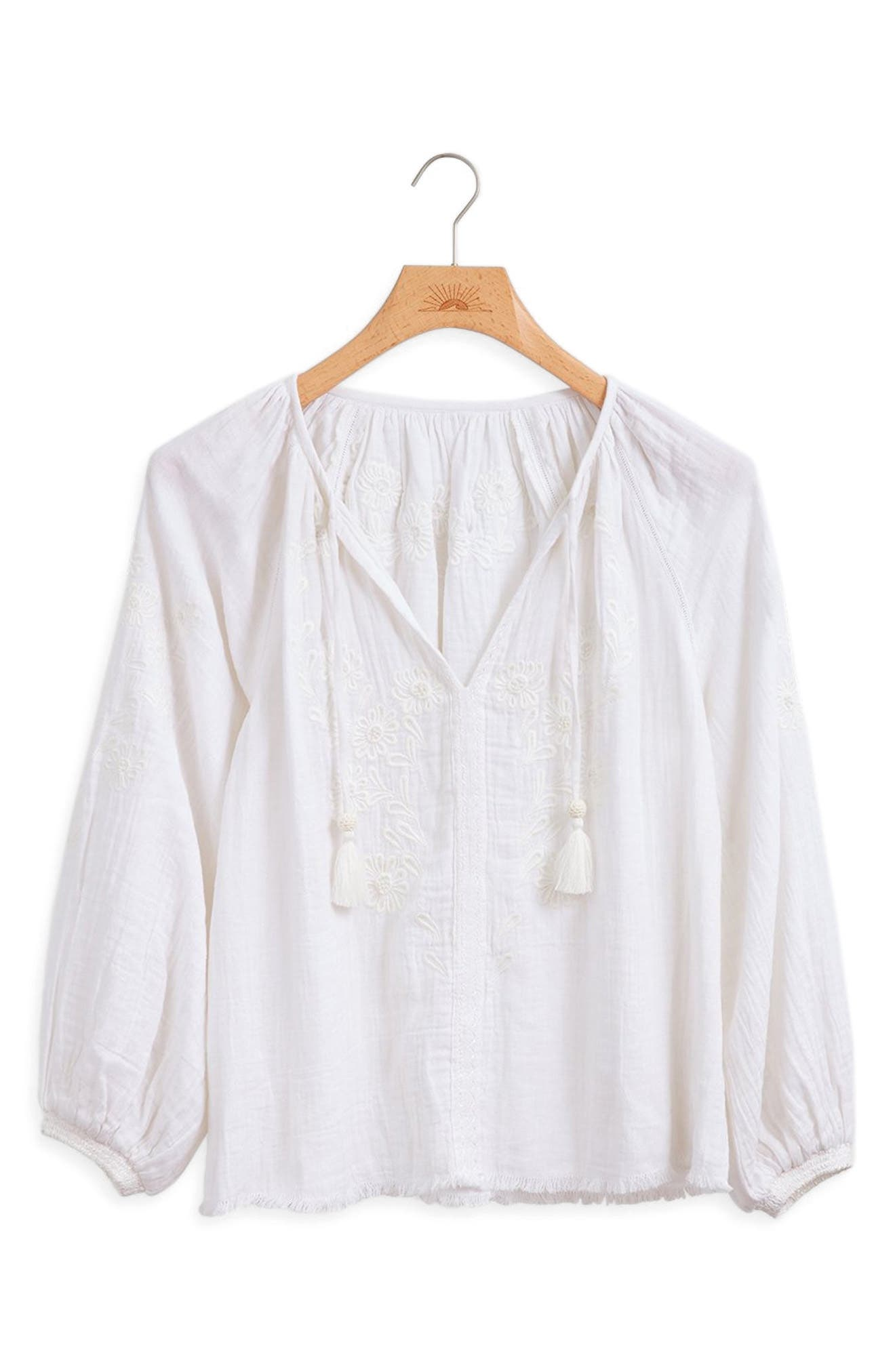Faherty Blossom Blouse   Nordstrom