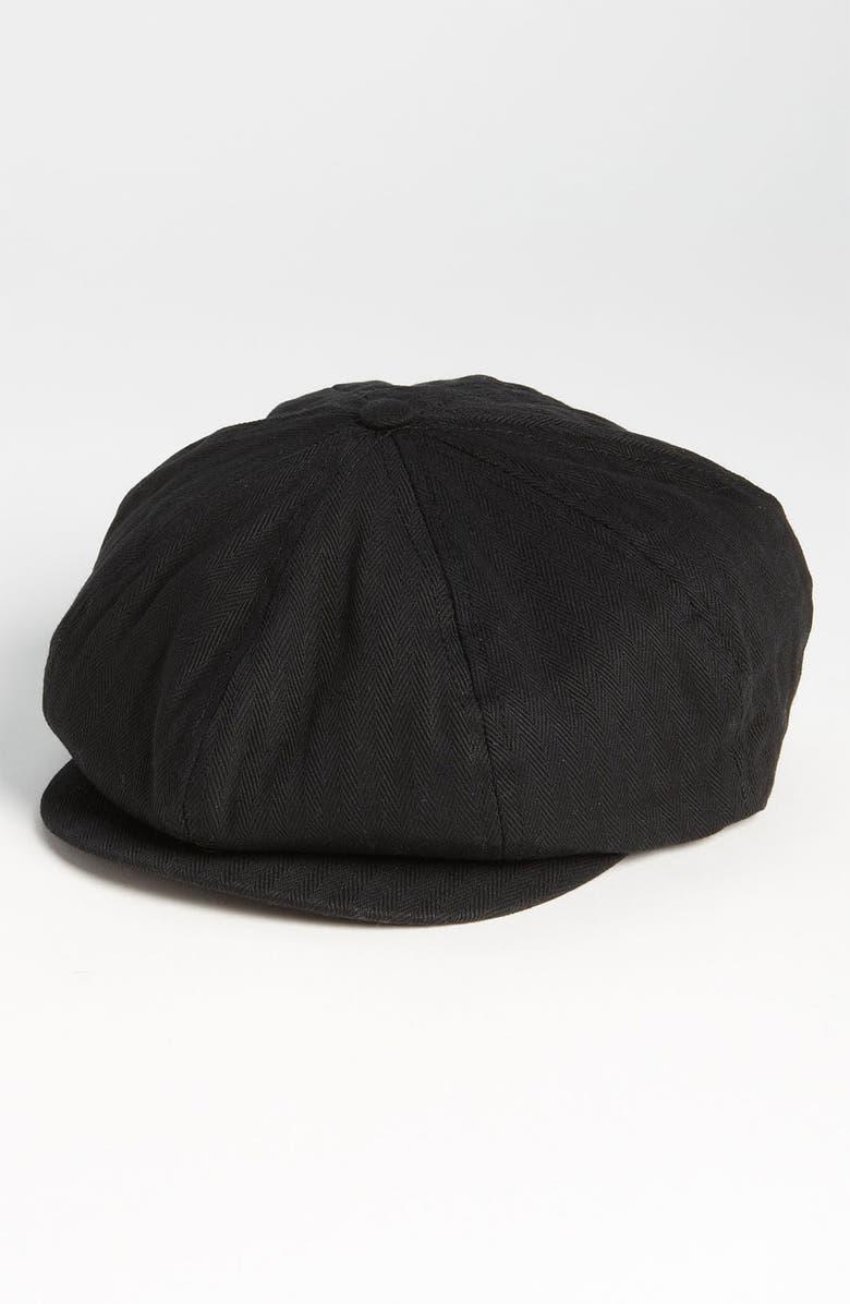 BRIXTON 'Brood' Driving Cap, Main, color, 001