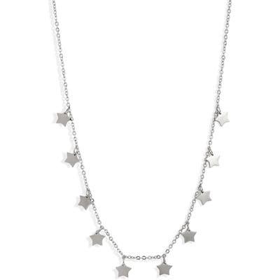 Knotty Stars Charm Necklace