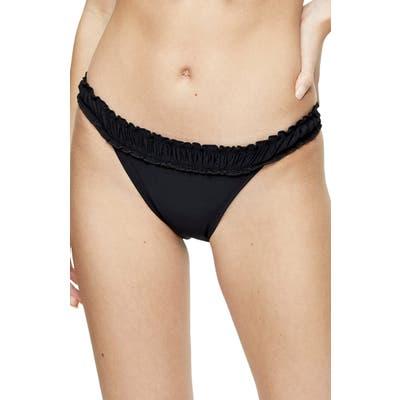 Topshop Ruffle Bikini Bottoms, US (fits like 14) - Black