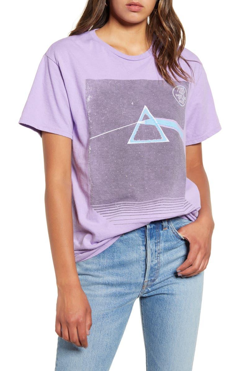 JUNK FOOD Pink Floyd Prism Tee, Main, color, 500
