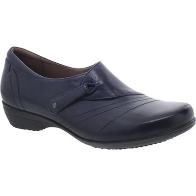 Dansko Franny Loafer-6- Blue