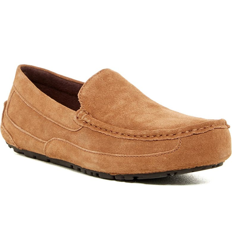UGG Alder Faux Shearling Lined Suede Slipper, Main, color, CHE