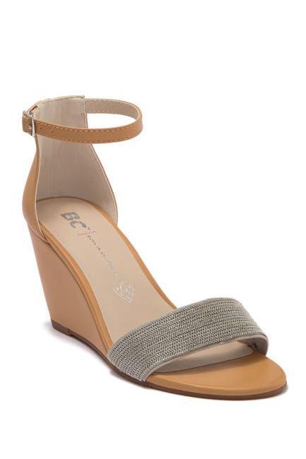 Image of BC Footwear Spring Snowflake Wedge Vegan Sandal