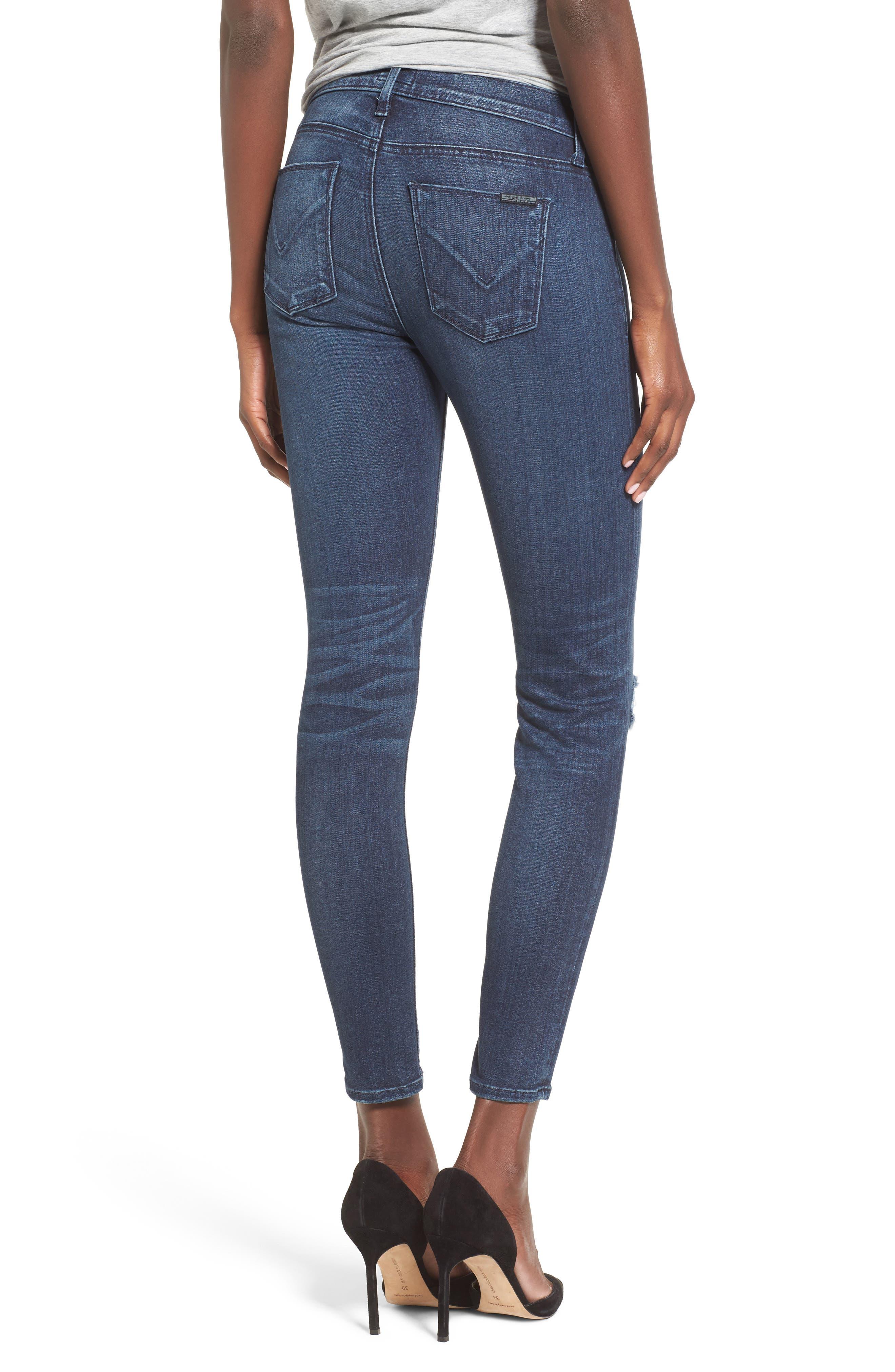 ,                             'Nico' Ankle Super Skinny Jeans,                             Alternate thumbnail 7, color,                             401