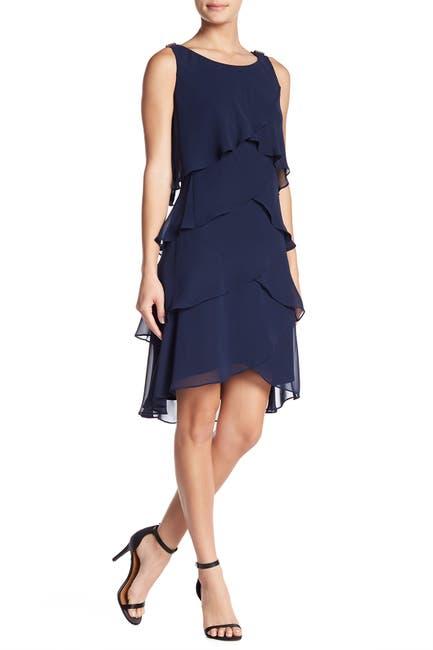 Image of SL Fashions Tulip Tiered Petal Dress