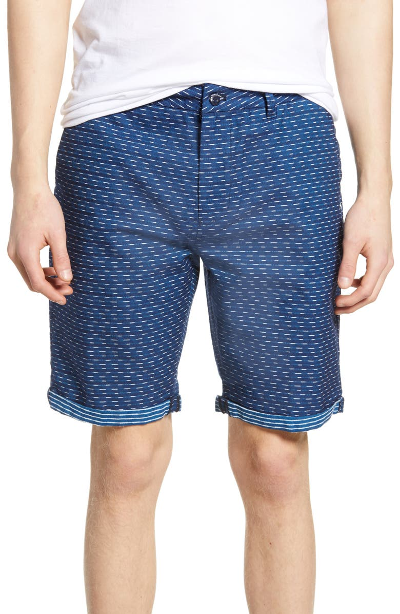 SCOTCH & SODA Classic Herringbone Chino Shorts, Main, color, COMBO A