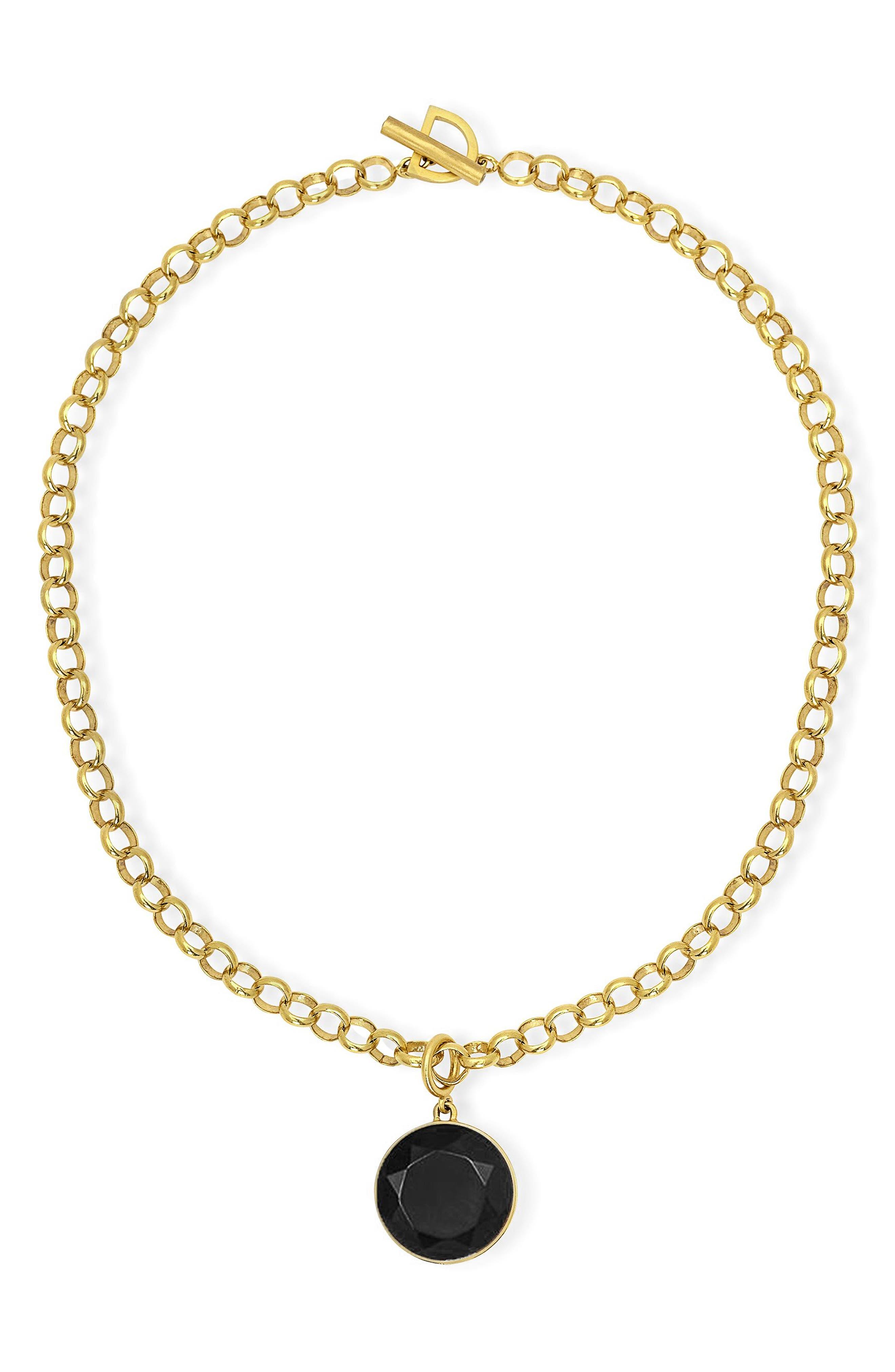 Signature Onyx Collar Necklace