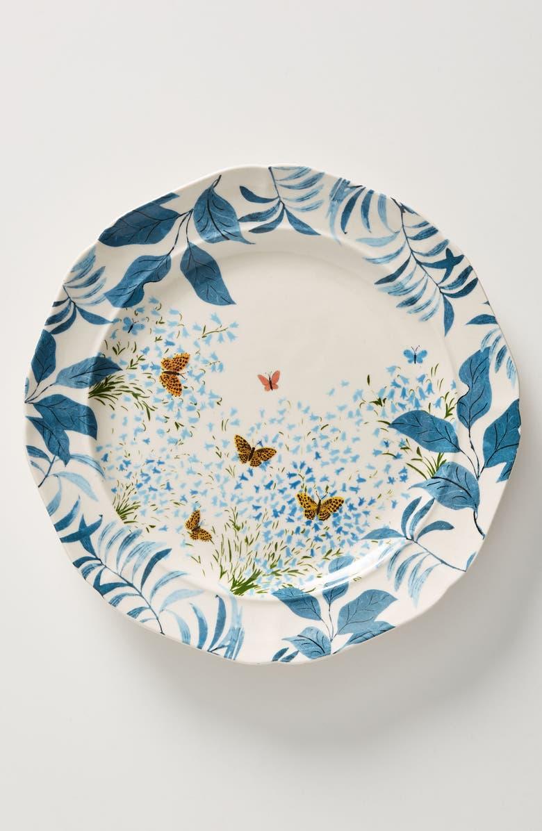 ANTHROPOLOGIE Paule Marrot Set of 4 Dinner Plates, Main, color, 100