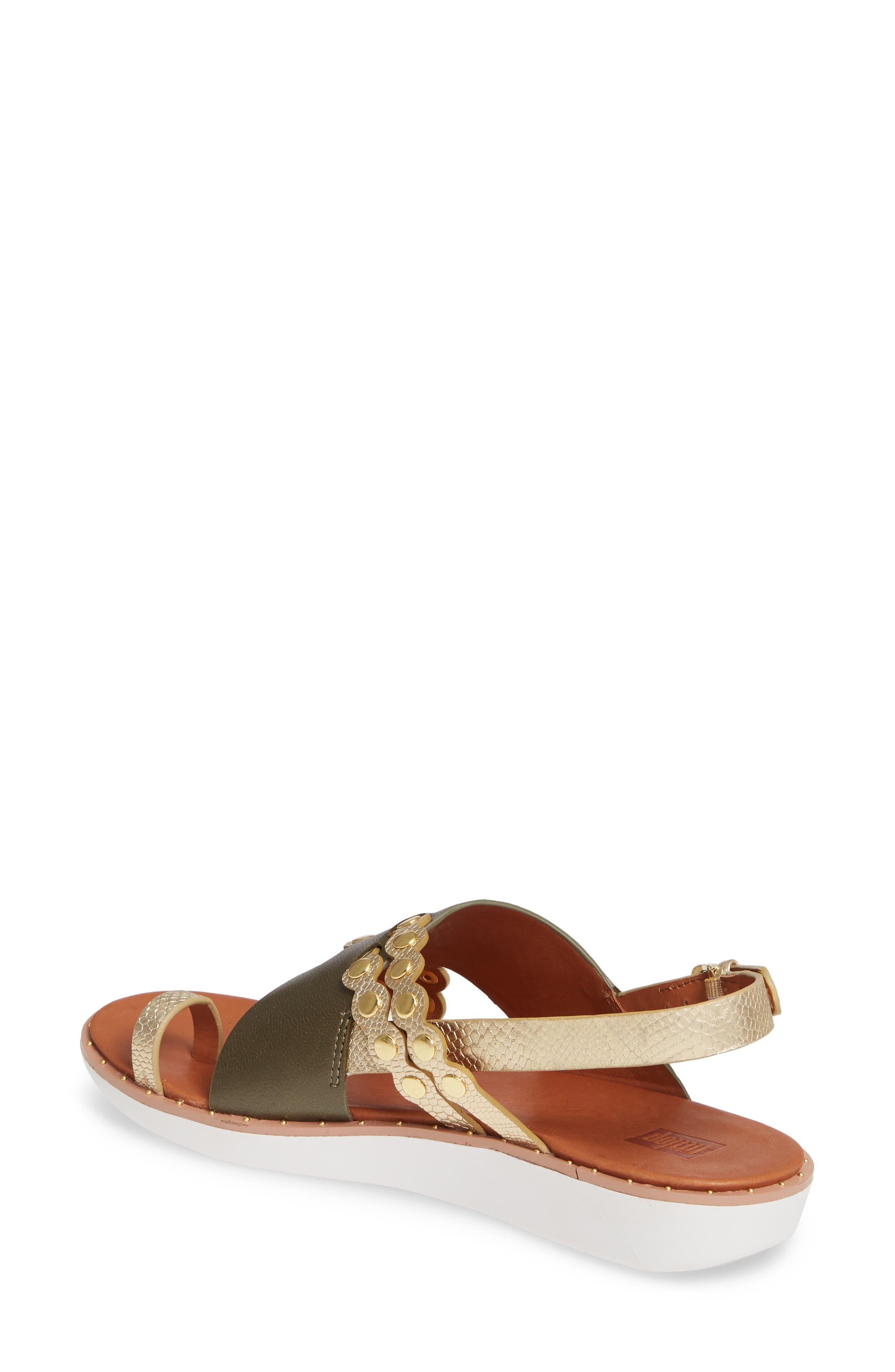 ,                             Scallop Embellished Sandal,                             Alternate thumbnail 14, color,                             353