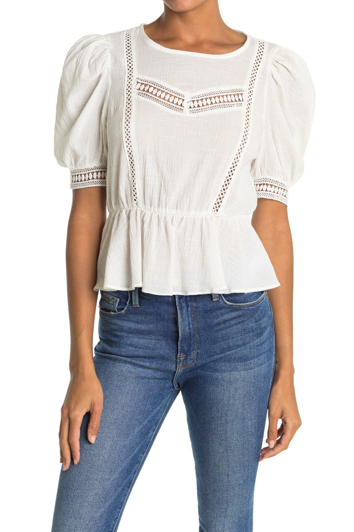Image of Lush Puff Sleeve Top