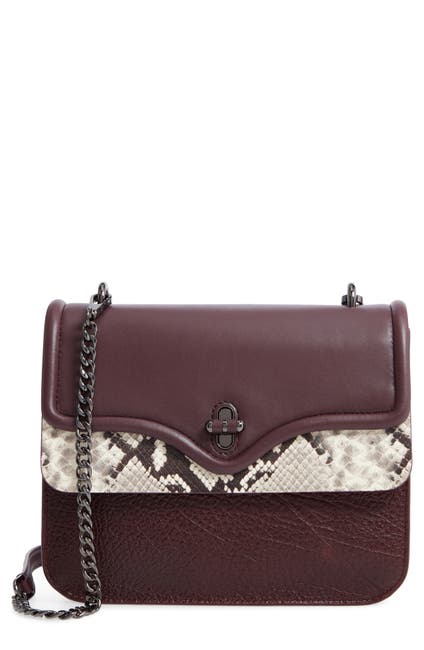 Image of Rebecca Minkoff Phoebe Leather Shoulder Bag