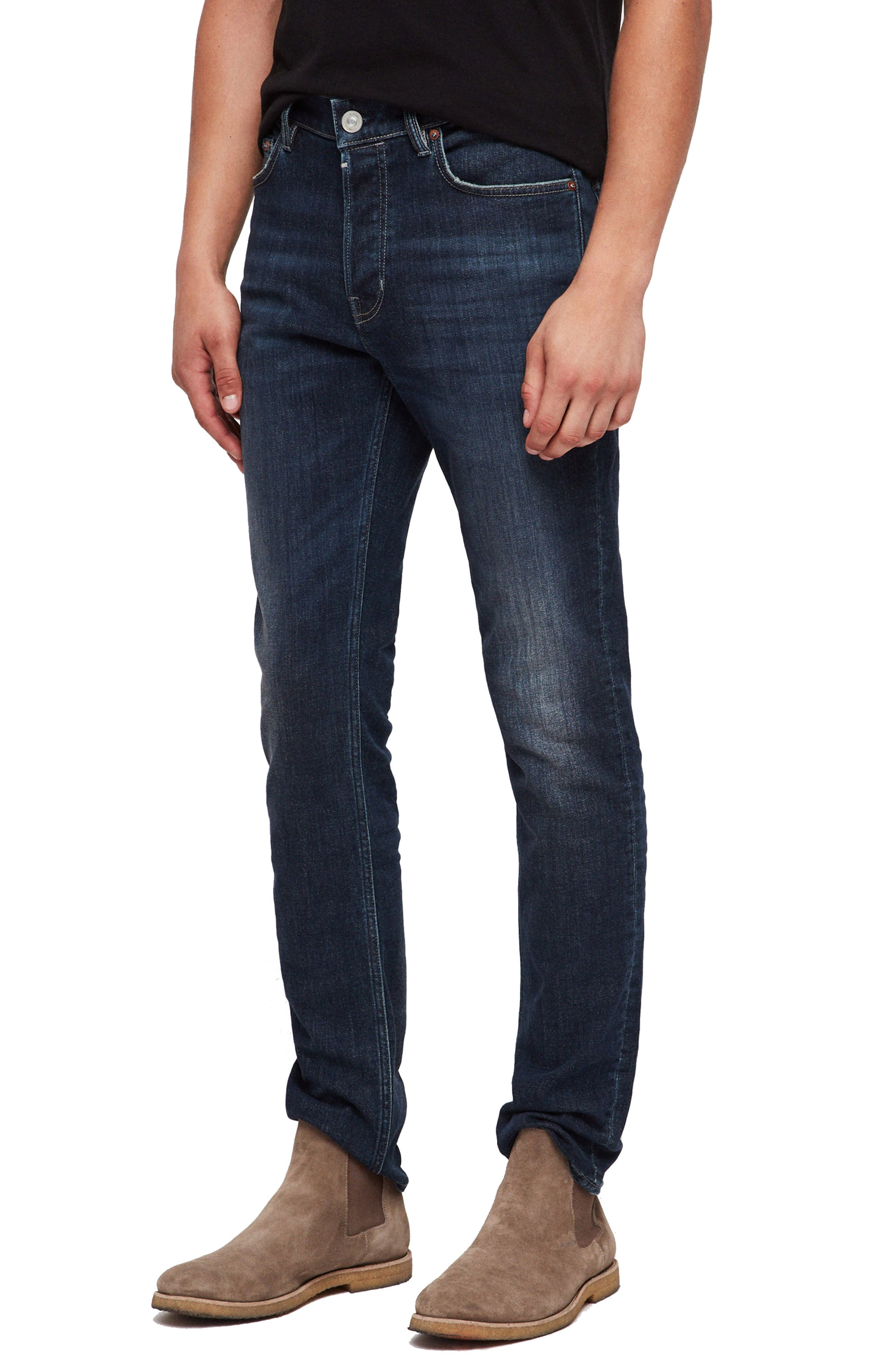 Rex Slim Fit Stretch Straight Leg Jeans