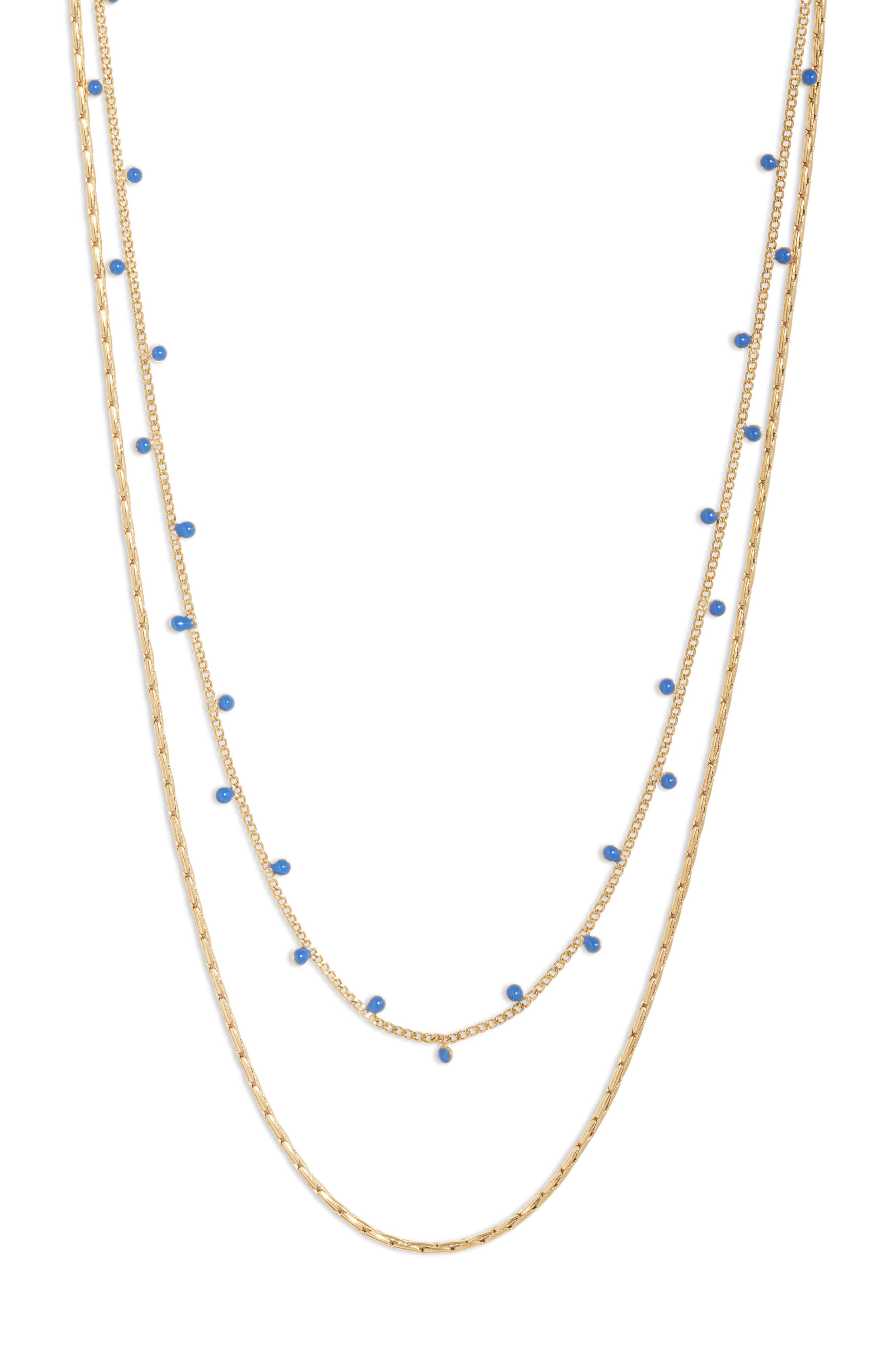 Modri Double Strand Necklace