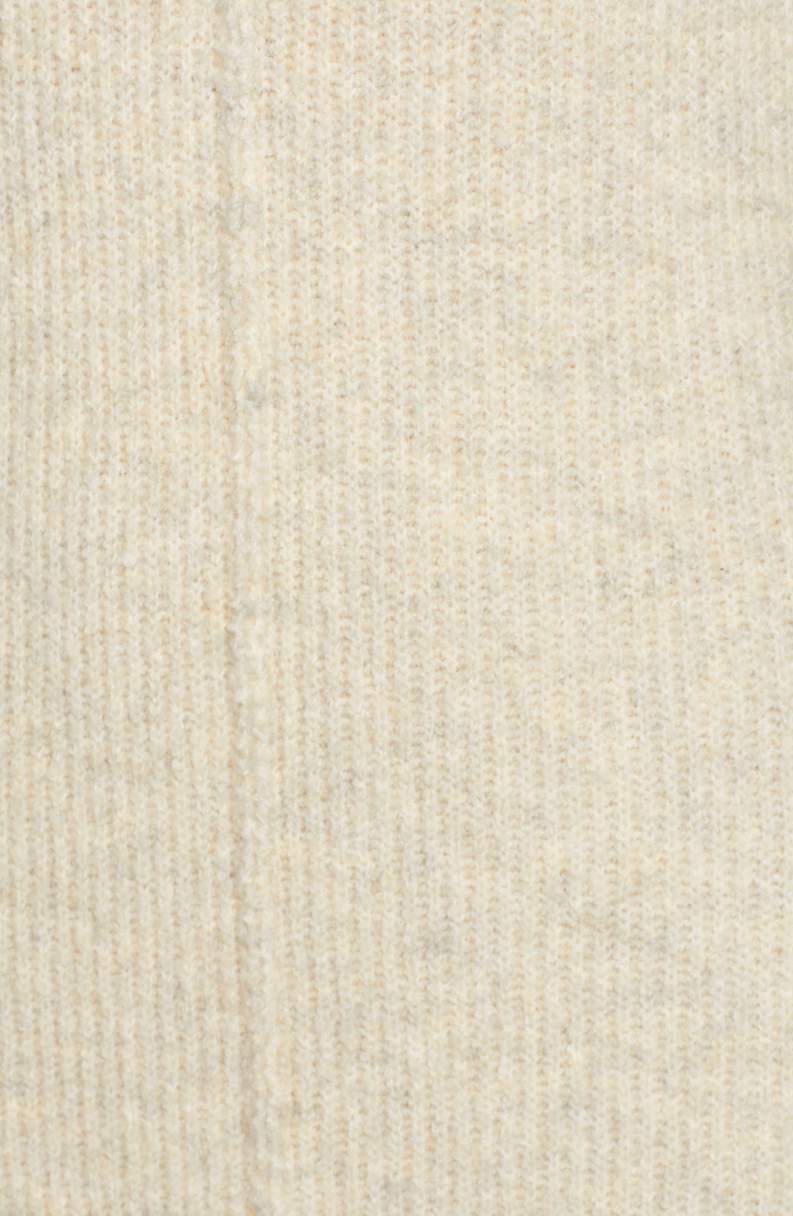 ,                             Mock Neck Maxi Sweater Dress,                             Alternate thumbnail 5, color,                             260