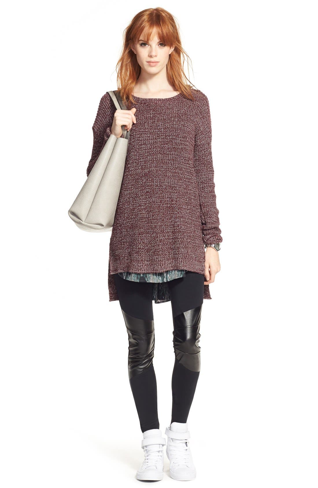 ,                             Textured Knit Pullover,                             Alternate thumbnail 31, color,                             930