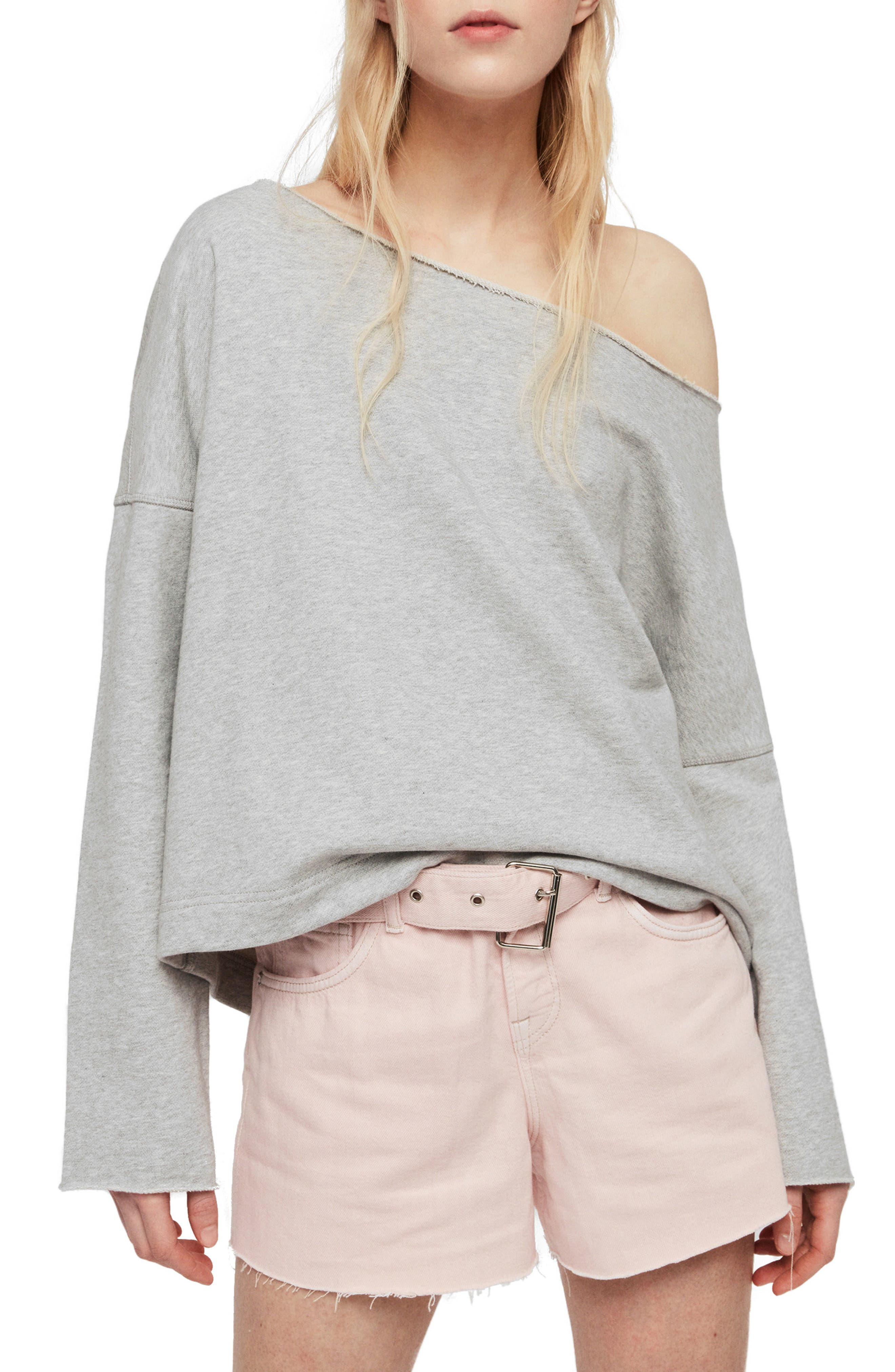 Allsaints Senia Sweatshirt, Grey