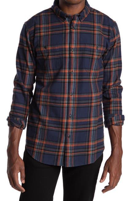Image of Ezekiel Russo Long Sleeve Plaid Shirt