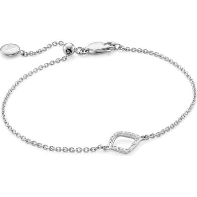Monica Vinader Riva Mini Kite Diamond Bracelet