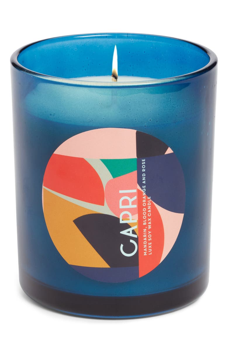 DAN300 Resort Luxe Scented Soy Wax Candle, Main, color, 400