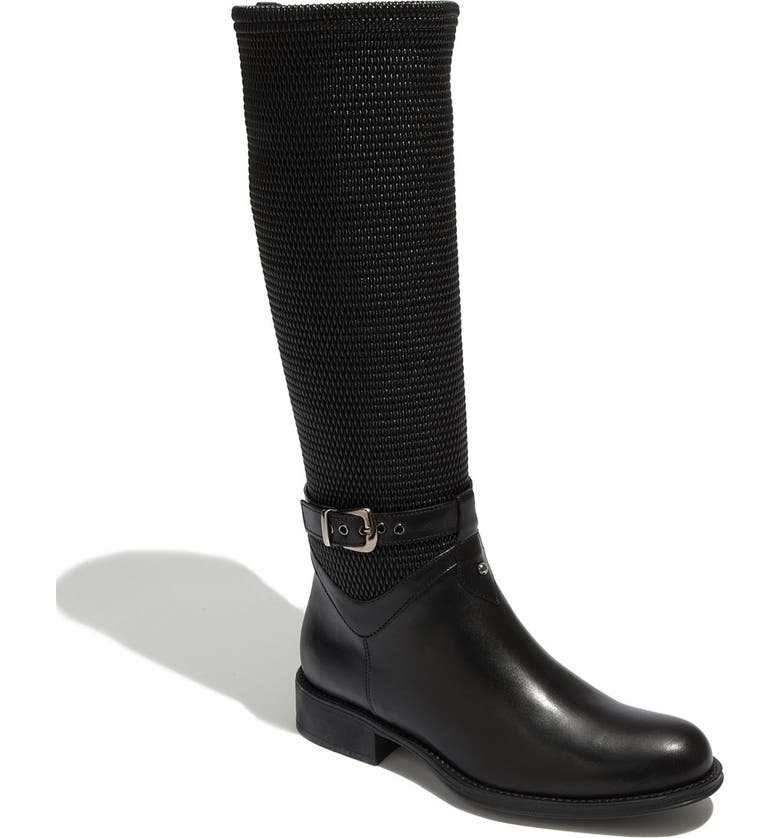 AQUATALIA by Marvin K. 'Undy' Weatherproof Woven Shaft Boot, Main, color, 001