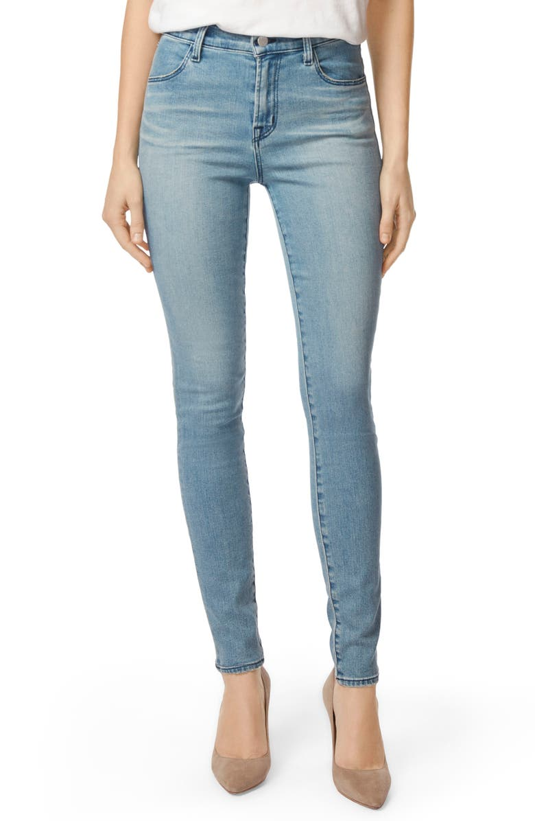 J BRAND Maria High Waist Skinny Jeans, Main, color, 407
