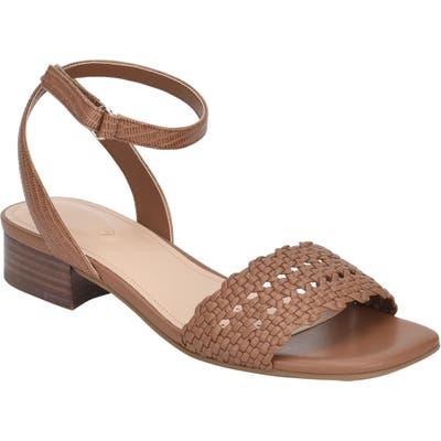 Evolve Ingrid Ankle Strap Sandal- Brown