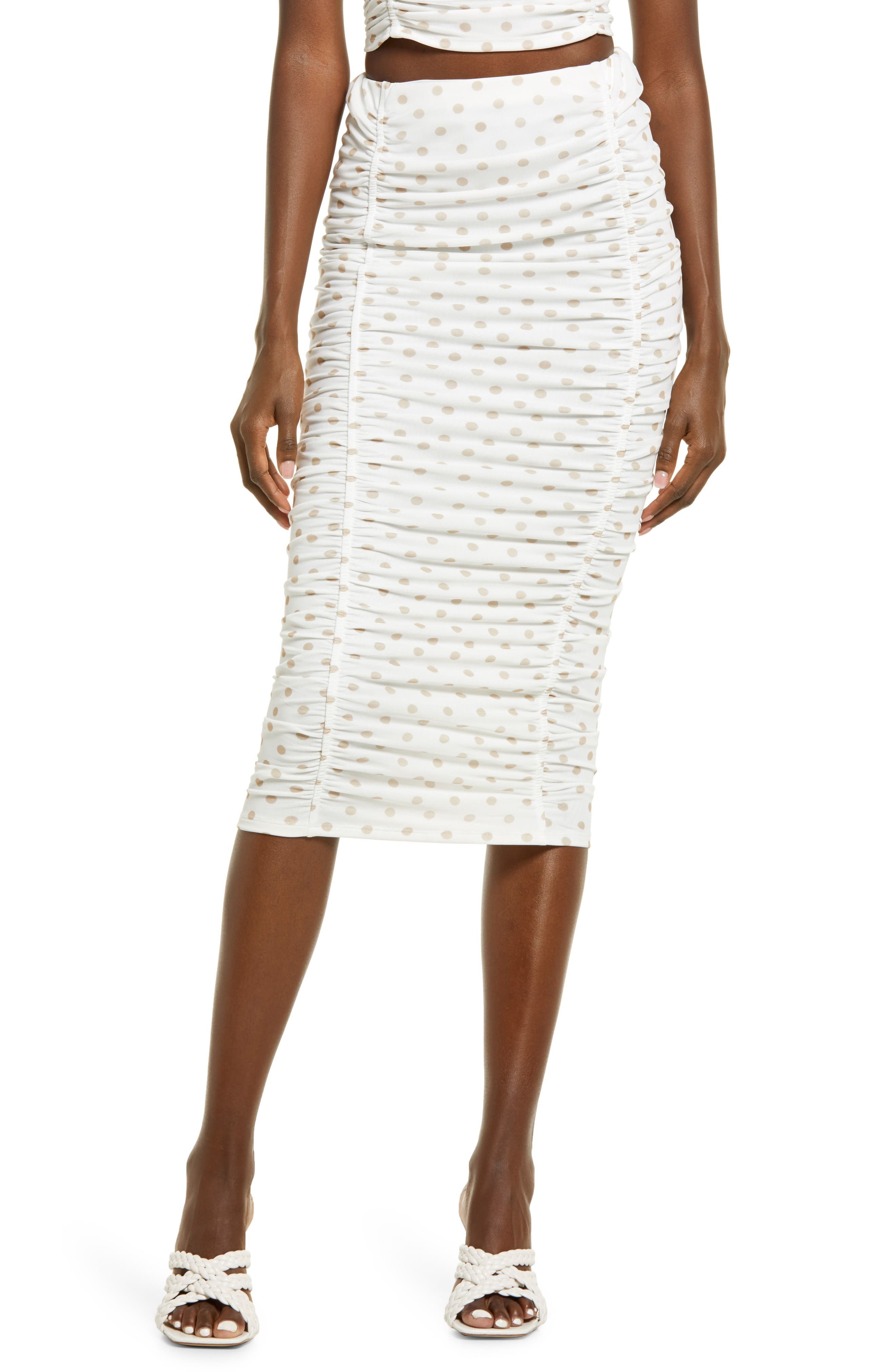 Venice Ruched Skirt
