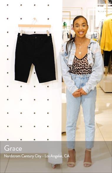 Denim Bermuda Shorts, sales video thumbnail