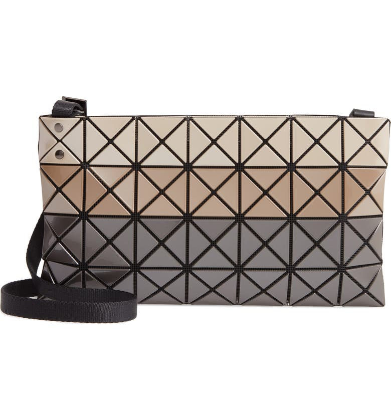 BAO BAO ISSEY MIYAKE Prism Crossbody Bag, Main, color, BEIGE MIX