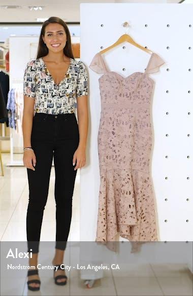 Ramona Lace Mermaid Dress, sales video thumbnail