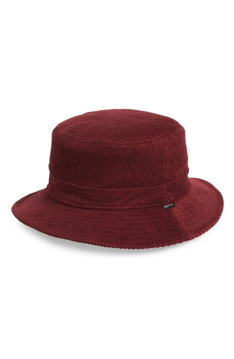 BRIXTON Hardy Bucket Hat, Main, color, 930